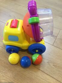 Fisher price cement mixer