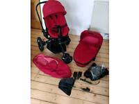 Quinny Moodd + Carrycot + accessories