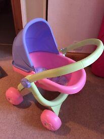 Smoby doll pram/stroller