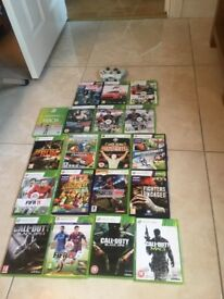 Selection of X-Box 360 Games
