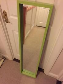 Lime Green Wall Mirror