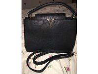 Real leather LV bag