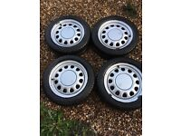 Vw golf g60 steel wheels