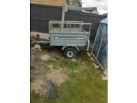 ERDE122 CAMPING TRAILER WITH SPARE WHEEL