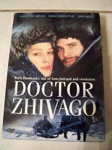 DVD-DR ZHIVAGO MINI SERIES--KEIRA KNIGHTLEY Edmonton Edmonton Area image 1