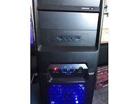 Computer keyboard mouse monitor and avast antivirus+ anti malware installed