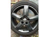 """Audi vw alloy wheels 17"""" 5x112 t4"""