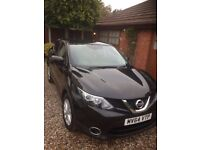 NEW SHAPE Black Nissan Qashqai for sale in Essex 2015 model 1.5dci