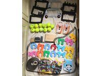 socket decoration+remote control doorbell+tenis ball+microphone