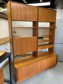 G Plan Sideboard Wall Unit Form 5 Vintage Mid Century Storage Teak Cabinet