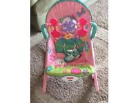 Fisher Price vibrate and rock baby chair