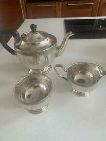Viners of Sheffield tea set vintage antique