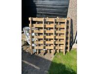 Three free wooden pallets