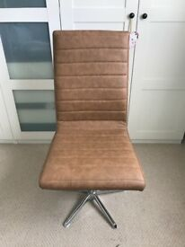 Lovely Tan Office Chair from Dwell
