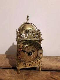 Vintage carriage clock gold