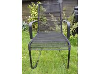Lightweight Ikea chair suitable for teenage boy���s bedroom, conservatory, porch or garden