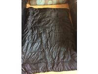 Double sleeping bag a carry bag