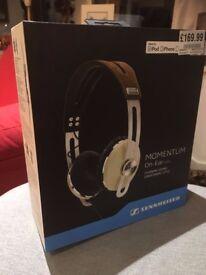 Sennheiser Momentum On Ear Headphones - Like New (Bought for £169.99)
