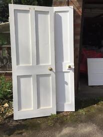 Interior reclaimed cottage doors (8 doors)