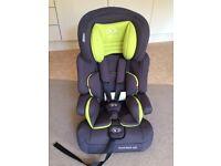 Baby Car Seat Kinderkraft group 1-2-3 (9-36 kg) - used 1 week