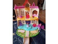 Sofia the first castle and minimus