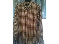 Men's xl aquascutum club check shirt