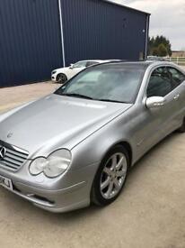 Automatic Mercedes C200 2003