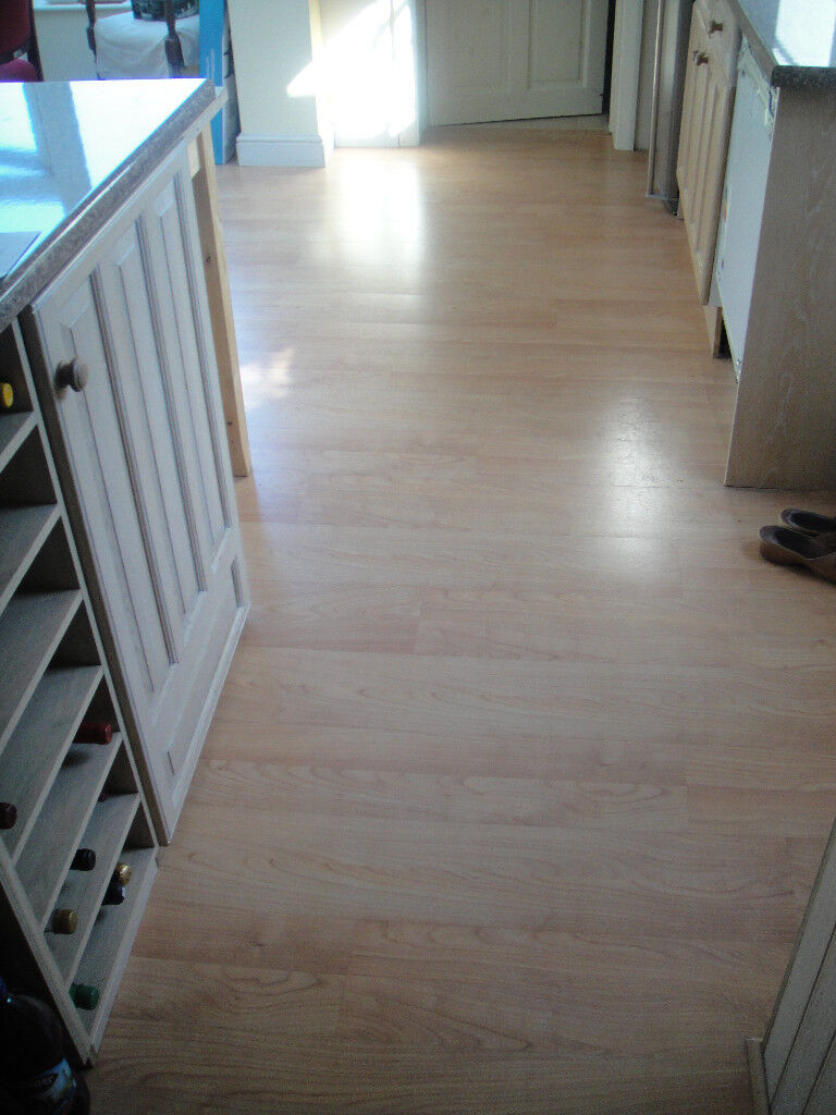 Pergo Original Cherry Interlocking Floorboards In Farnborough - Pergo interlocking flooring
