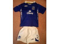 Official Everton kit for sale