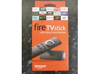 Amazon Fire TV Stick with Alexa Voice Control Latest Movies NEW BOXED