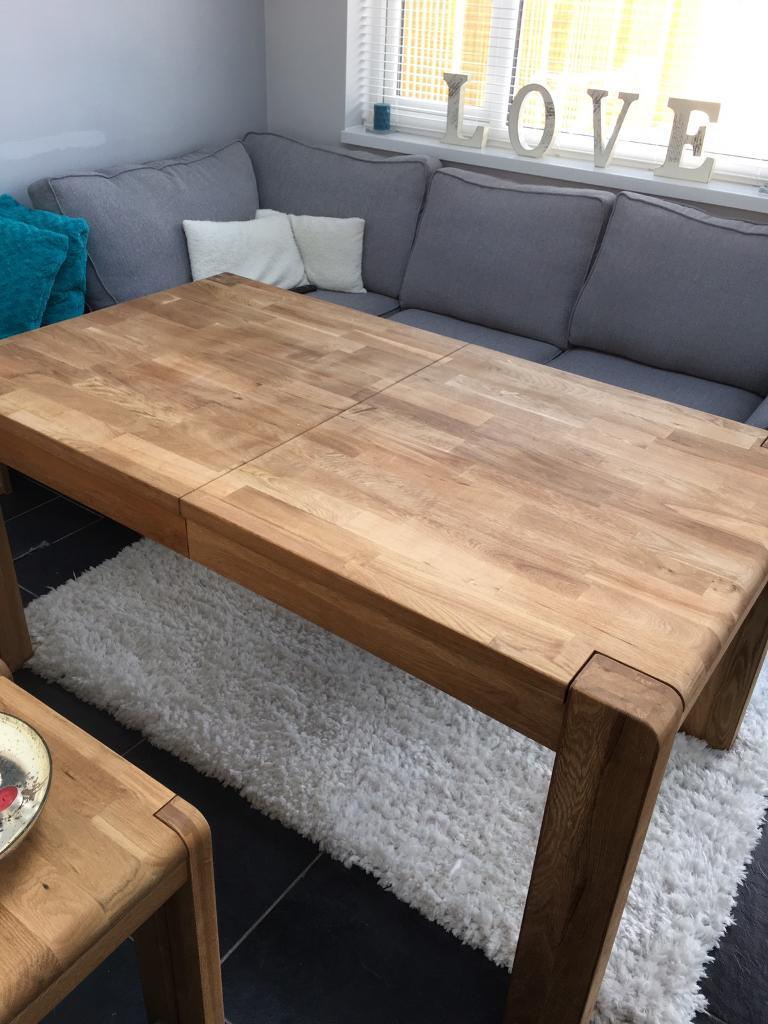 Beautiful harveys solid oak table from cargo portsmore range beautiful harveys solid oak table from cargo portsmore range geotapseo Gallery