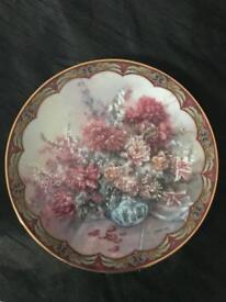 1 Lena Liu 22 Karat Gold Decorative Border Limited Edition Collectors Plate