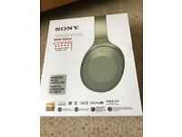 Sony MDR-1000X wireless headphones headset - *Noise cancelling* New & Sealed