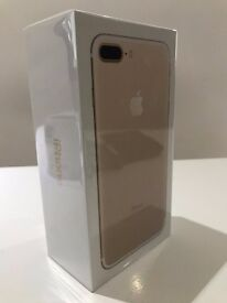 iPhone 7 Plus in Gold (Brand New)