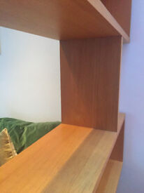 Conran oak 'Balance' Shelving unit
