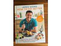 "How To Eat Better (hardback photo-book) -- make any food a ""superfood"" RRP £20"
