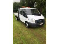 2009 ford transit flatbed pickup truck