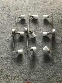 Ceiling spot lights (adjustable)