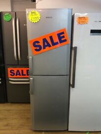 BEKO FROST FREE FRIDGE FREEZER IN SILIVER