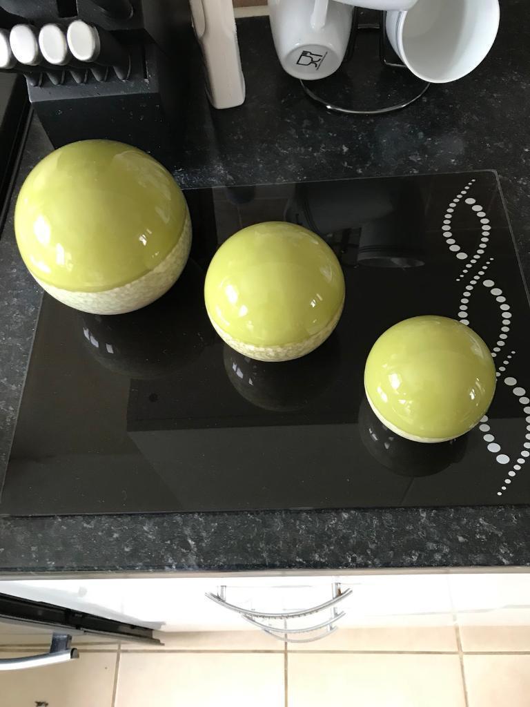 Next Green Ball Ornaments