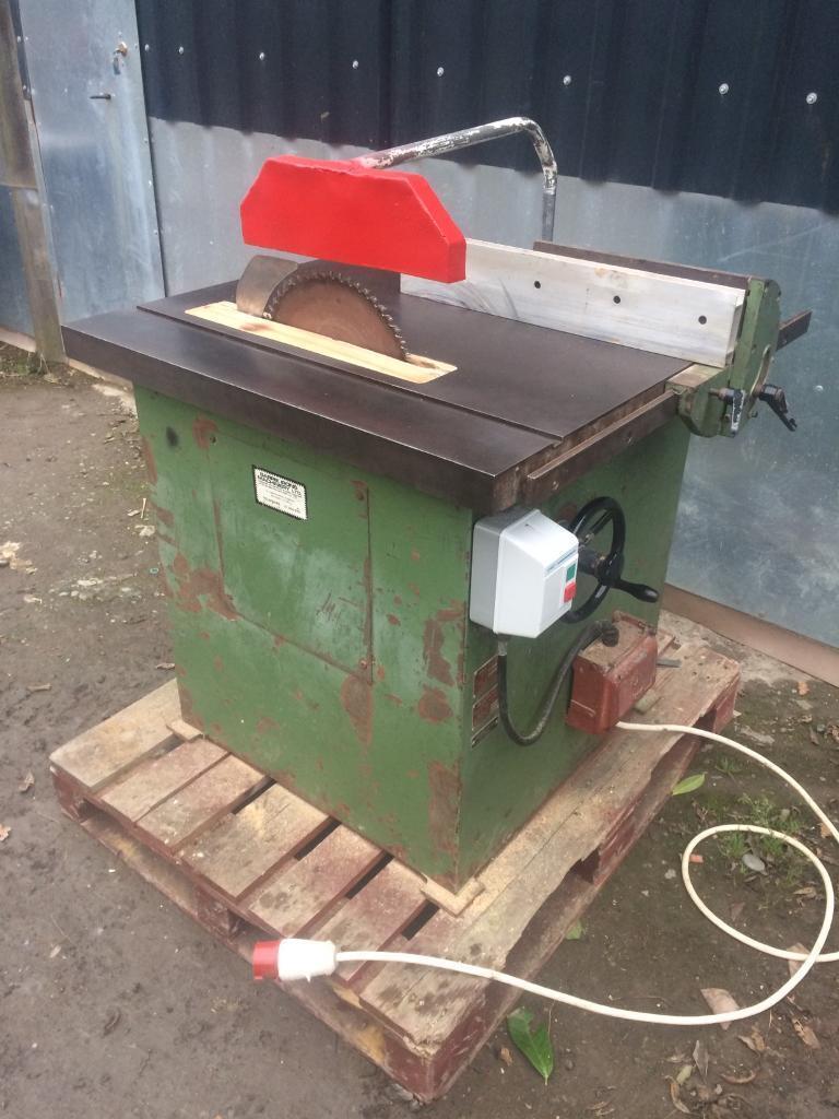 Multico circular saw / bench saw / 3 phase