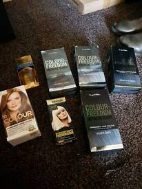 Selection of hair dye