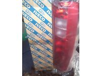 iveco rear lamps lens new tfo clear ask for details
