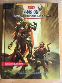 Dungeons & Dragons Eberron: Rising from the Last War - Campaign Setting Book