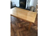 *Reduced-Solid Oak Coffee Table with Optional Protective glass top if required