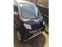 Smart car four two city passion 61 auto 12 month mot £1500 Ono