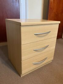 2 x Wooden Bedside Tables