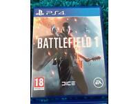 Battlefield one ps4
