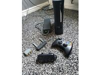 Xbox 360 elite with 1 controller with 9 games