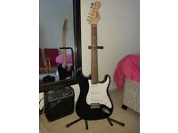Fender Squier Strat Pack SS Short-Scale Guitar Pack, Black